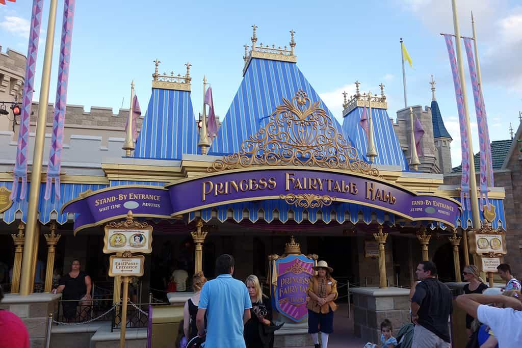 Princess Fairytale Hall Walt Disney World Magic Kingdom ExteriorJPG (1)