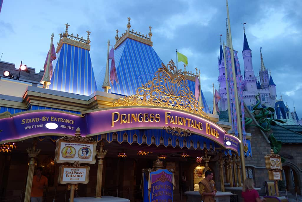 Princess Fairytale Hall Walt Disney World Magic Kingdom ktp (0)