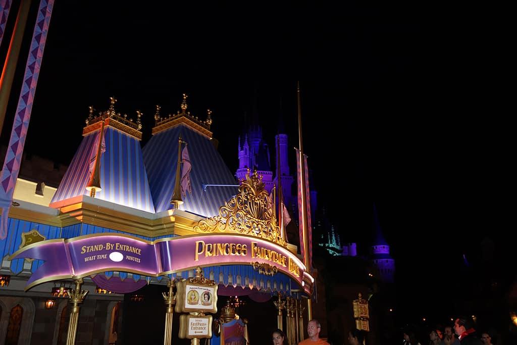 Princess Fairytale Hall Walt Disney World Magic Kingdom ktp (2)