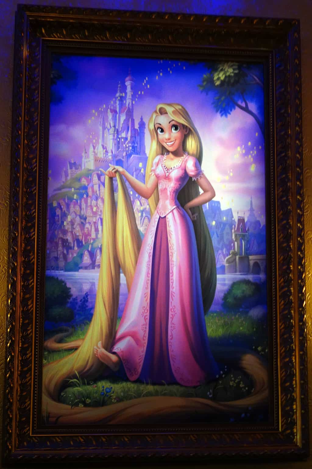 You can find Rapunzel here every day