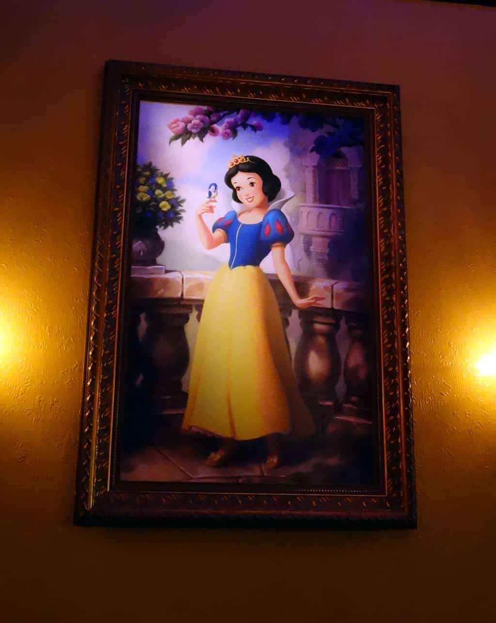 To meet Snow White, get in the Rapunzel line!