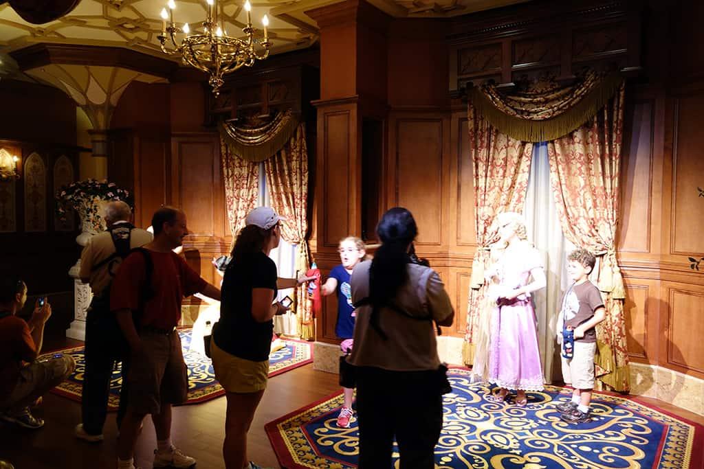 View of a princess meet area.