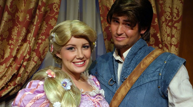 Meet the Princes with their Princesses together as Walt Disney World's Magic Kingdom celebrates Valentine's Day
