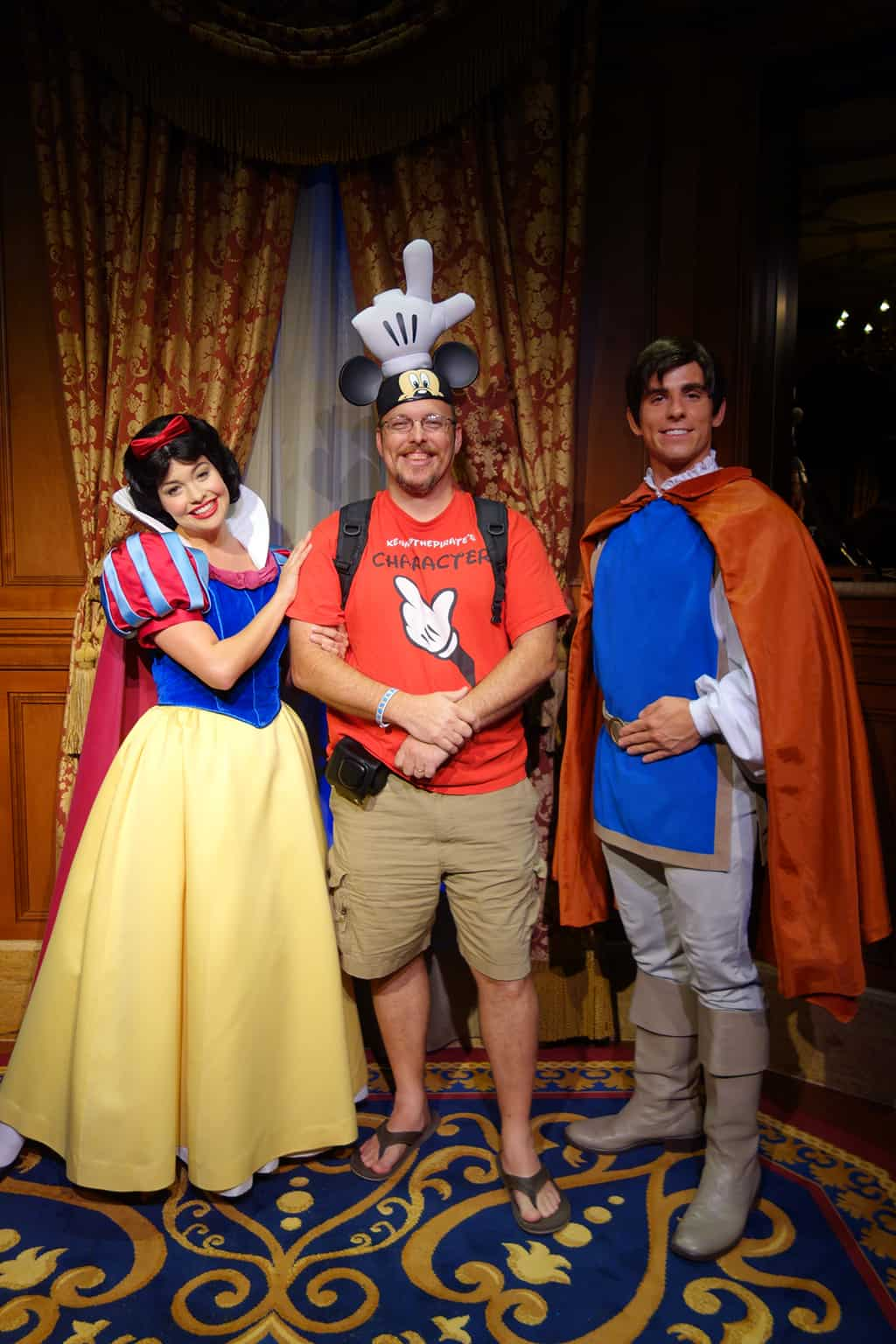 Princess Fairytale Hall Walt Disney World Magic Kingdom Snow White and Prince (4)