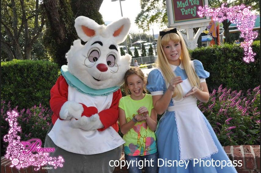 alice-and-white-rabbit-magic-kingdom