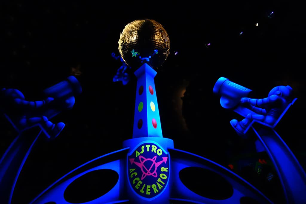 Buzz Lightear Space Ranger Spin Magic Kingdom Walt Disney World Kenny the Pirate