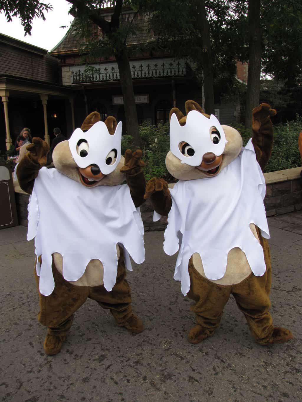 Disneyland Paris, Characters, Chip n Dale