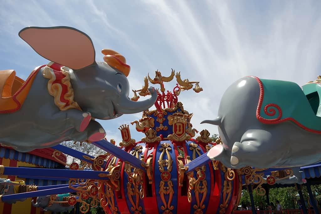 Dumbo Magic Kingdom Walt Disney World Kenny the Pirate