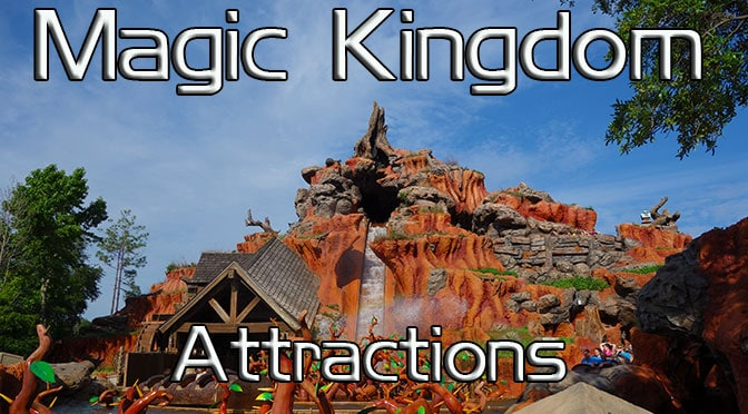 Magic Kingdom Attractions Kennythepirate Com