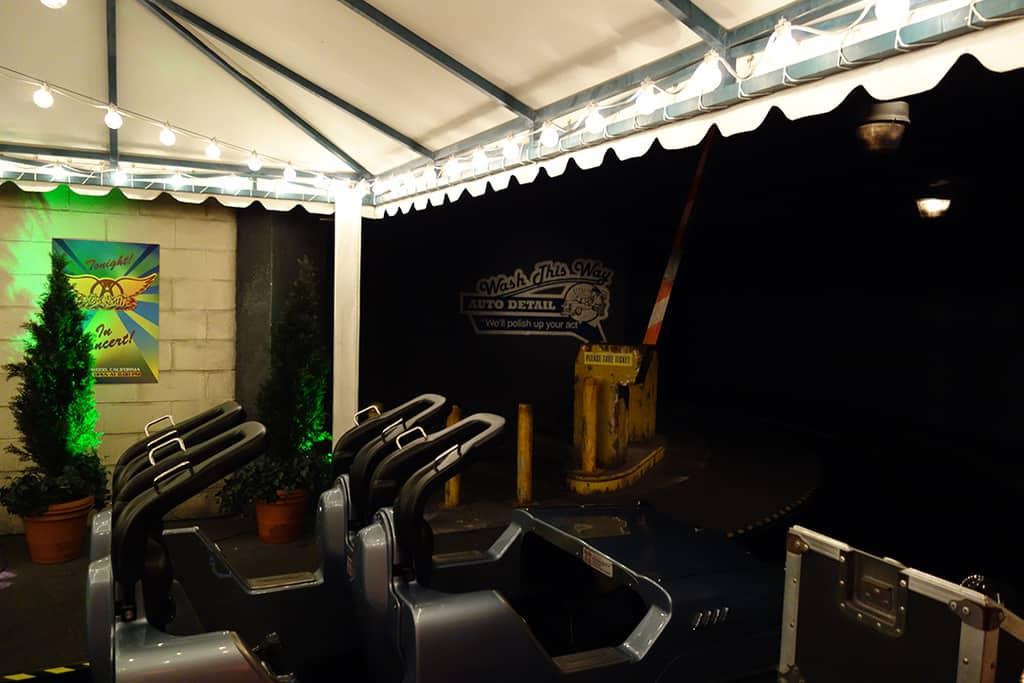 Rock n Roller Coaster Hollywood Studios Disney World Kenny the Pirate (11)