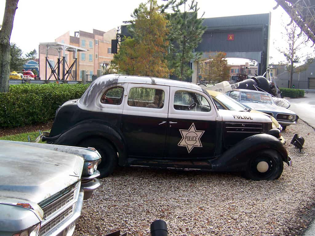 You get to see lots of old rusty cars.  Some are even from movies you've never seen.