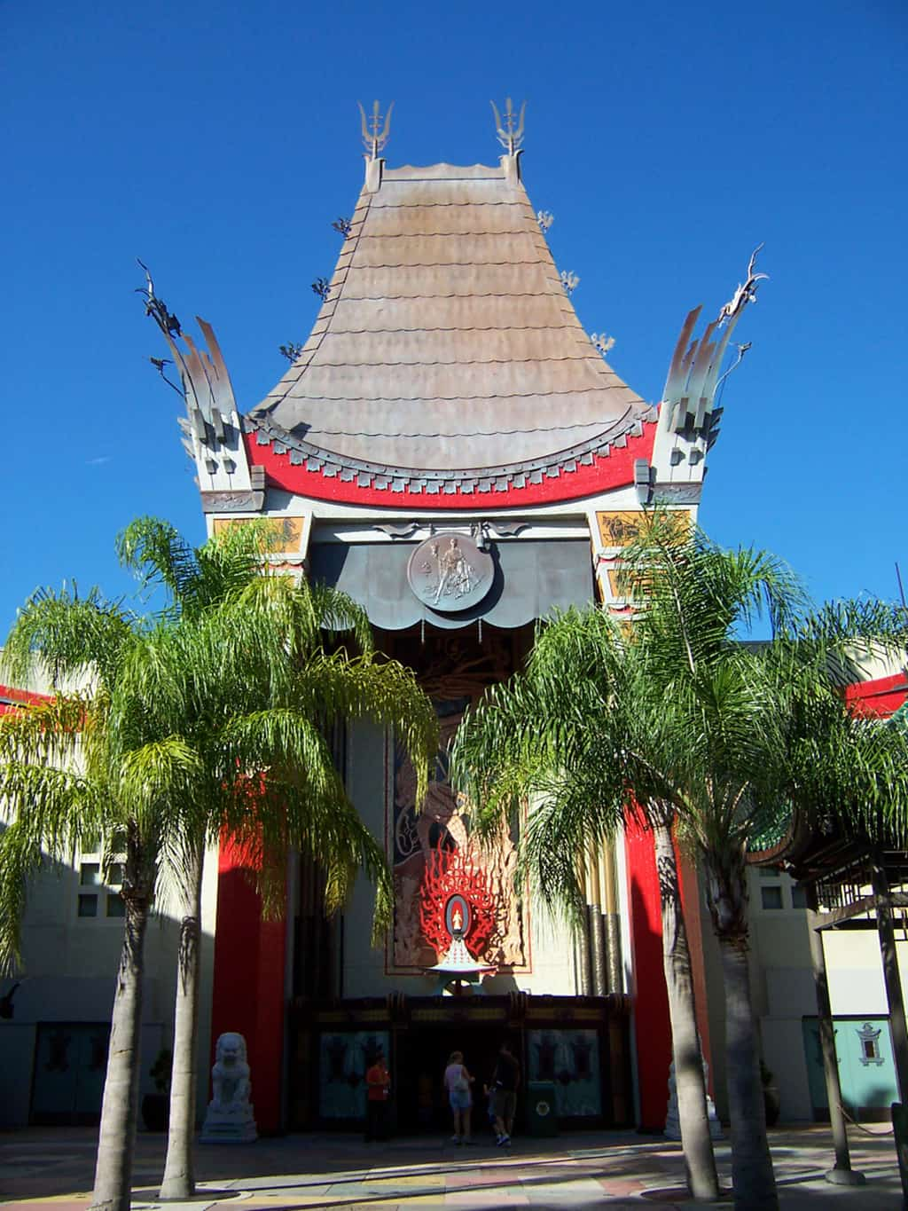 The view we SHOULD see when we enter Disney Hollywood Studios!