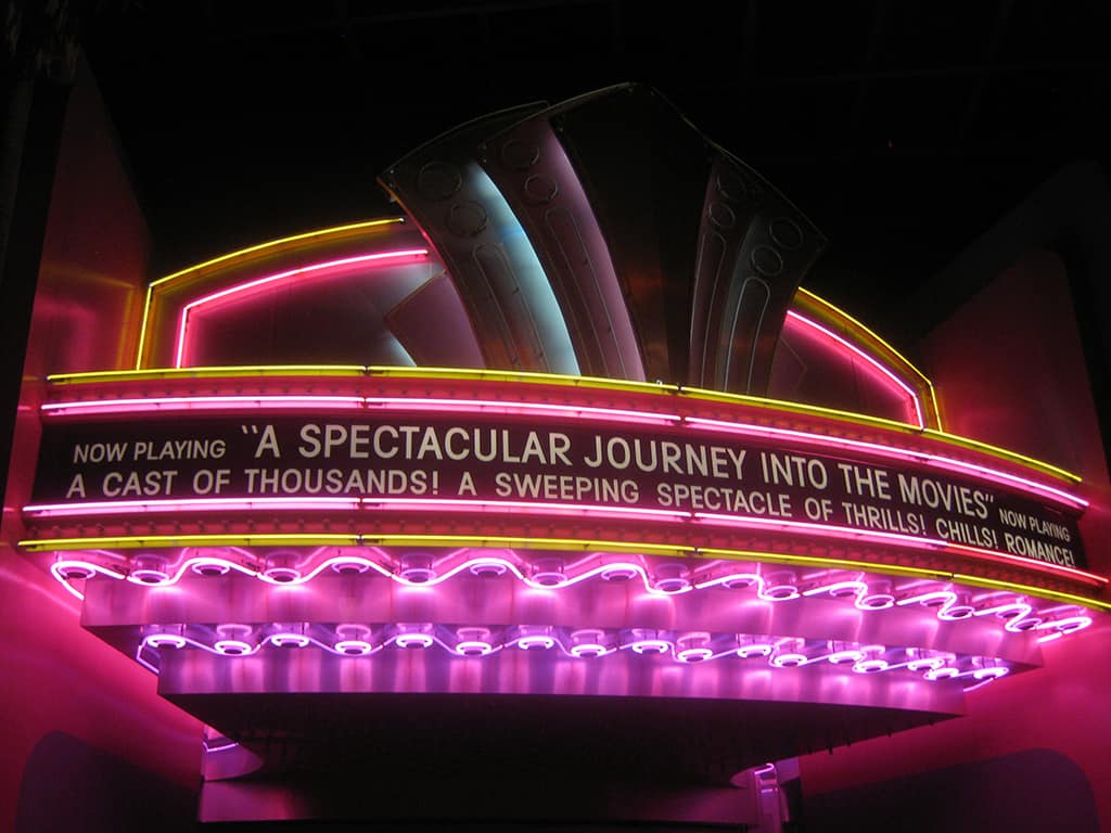 "Ready for a ""spectacular"" tour through the movies?"