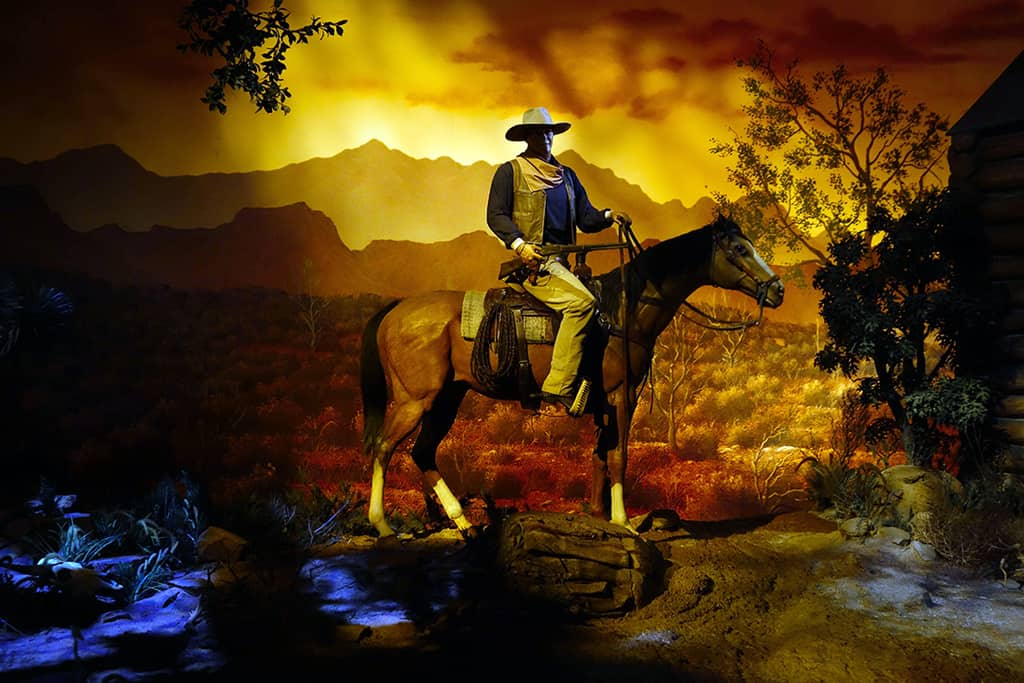 If you want your vehicle to be overtaken by a cowboy, take the first one or request the cowboy scene.  It's cool because it catches fire!