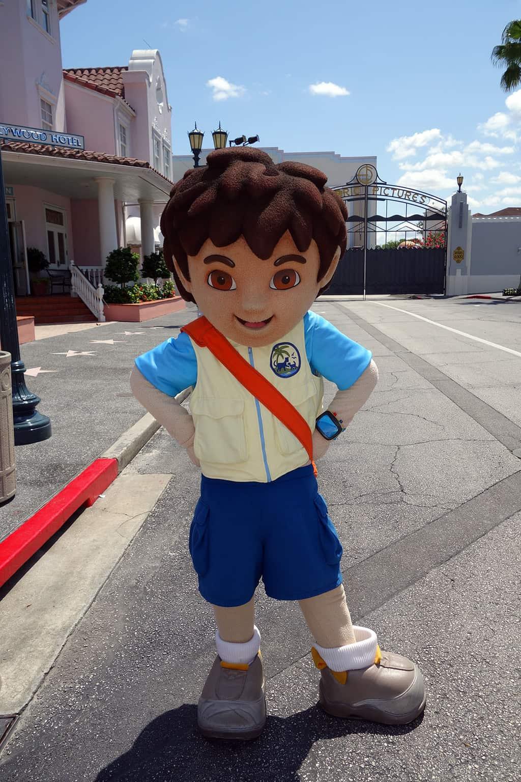 Diego Marquez at Universal Studios Orlando 2013
