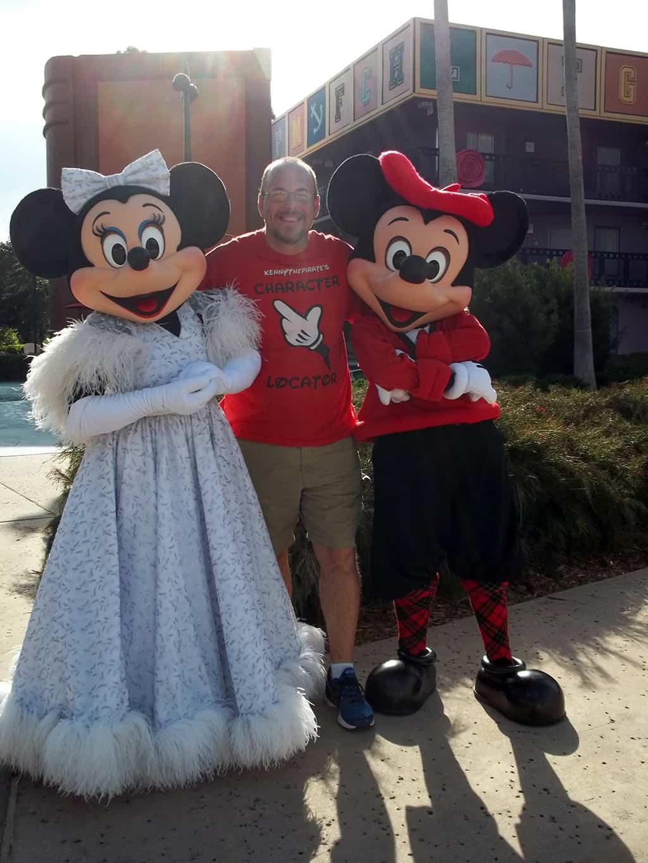 Walt Disney World, Character Meet and Greet, Halloween, All Star Movies, Mickey and Minnie