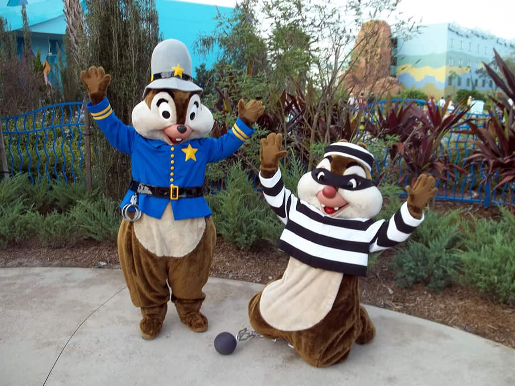 Walt Disney World, Character Meet and Greet, Halloween, Art of Animation Resort, Chip n Dale