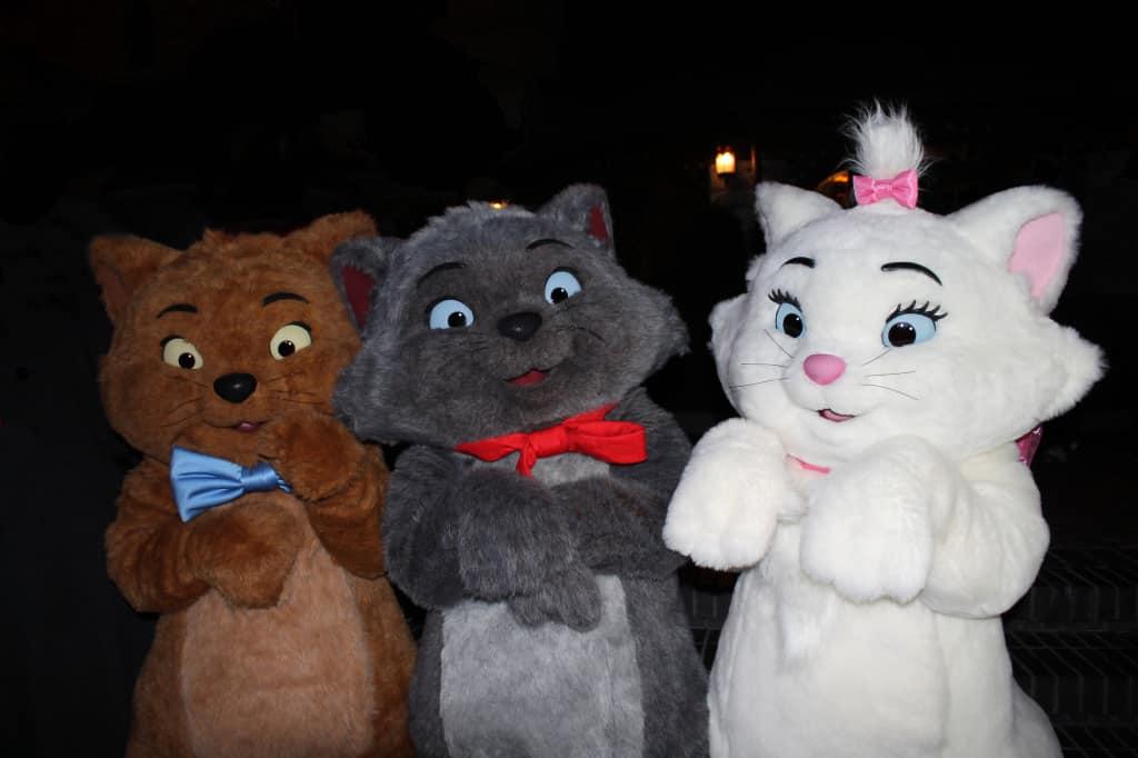 Disneyland Paris, Characters, Halloween, Marie, Berlioz, Toulouse