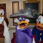 Disneyland Paris, Characters, Halloween, Launchpad McQuack, Darkwing Duck, Scrooge McDuck