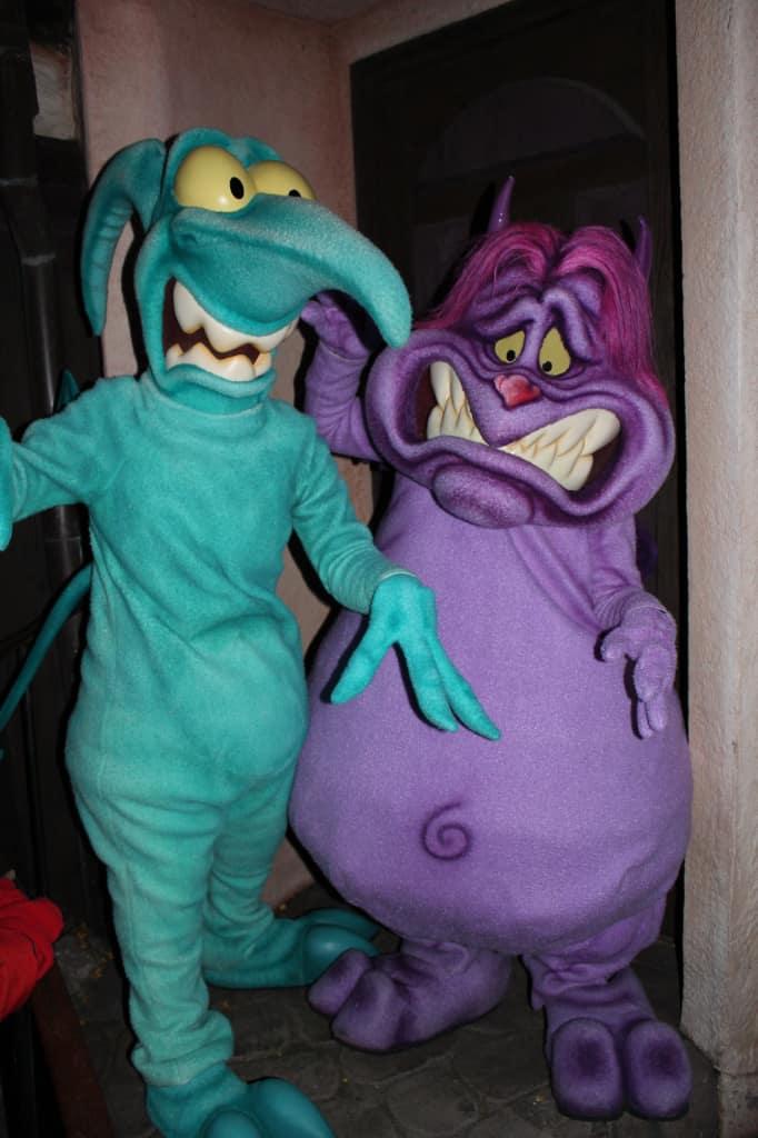 Disneyland Paris, Characters, Halloween, Pain and Panic