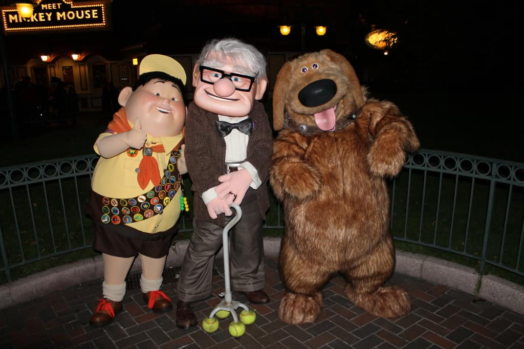Disneyland Paris, Characters, Halloween, Russell, Dug, Carl, Characters from Up