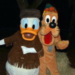 Walt Disney World, Character Meet and Greet, Halloween, Fort Wilderness, Donald Duck, Pluto