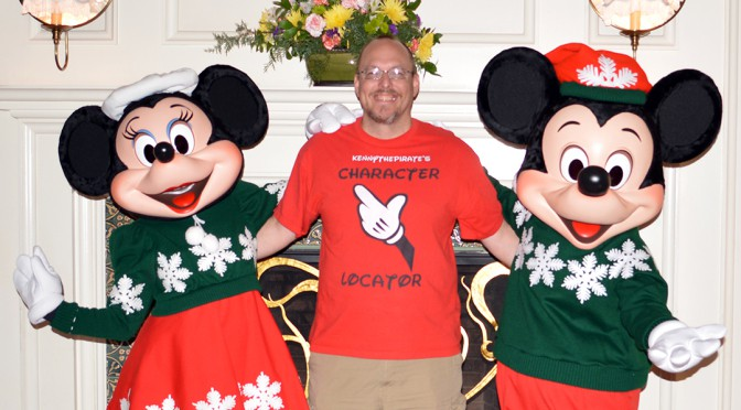 2015 Christmas Disney World Resort Character Meets