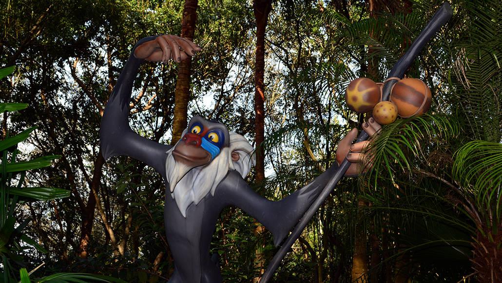 Walt Disney World Animal Kingdom Character Changes January 2014 (13)