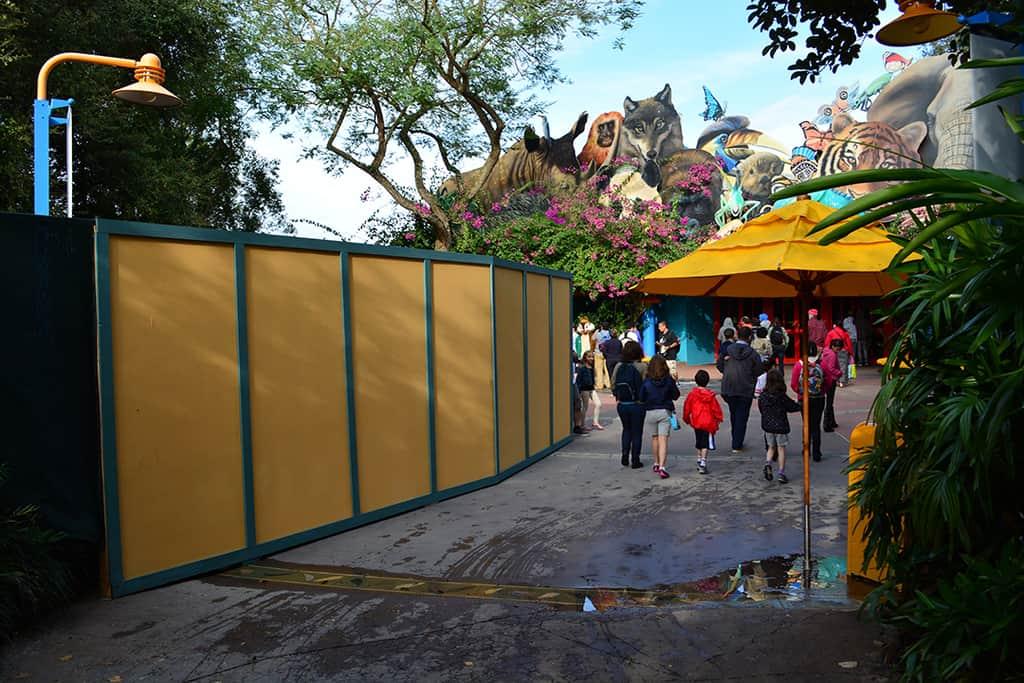 Walt Disney World Animal Kingdom Character Changes January 2014 (2)