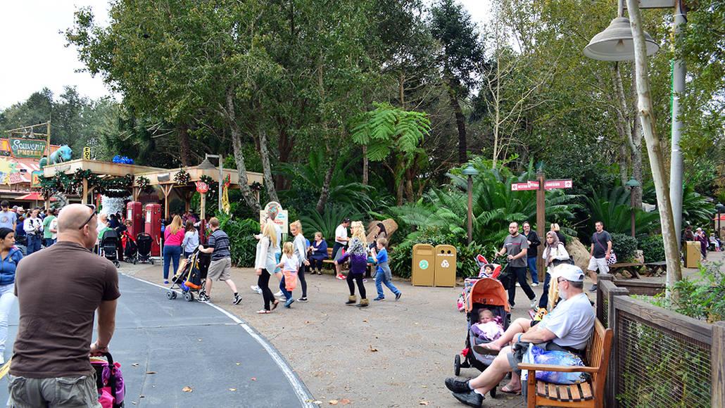 Walt Disney World Animal Kingdom Character Changes