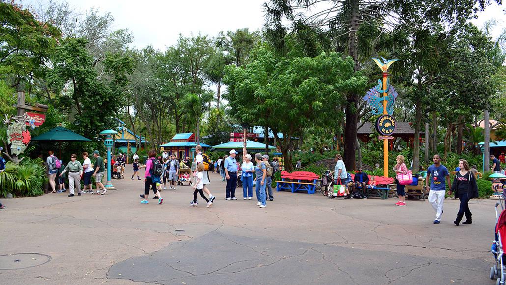Walt Disney World Animal Kingdom Character Changes January