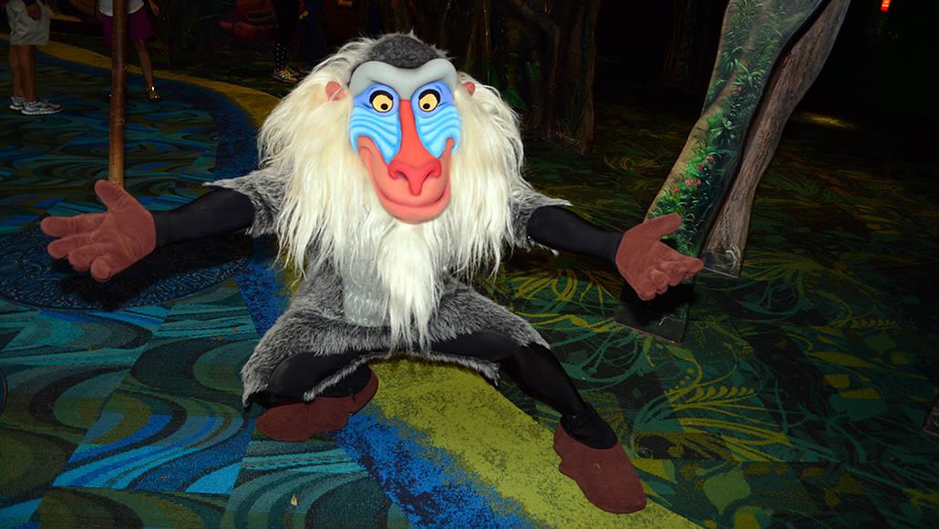 Walt Disney World, Animal Kingdom, Character Changes, January 2014, Rafiki