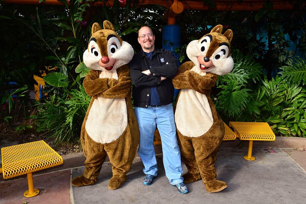 Walt Disney World, Animal Kingdom, Character Changes, January 2014, Chip n Dale