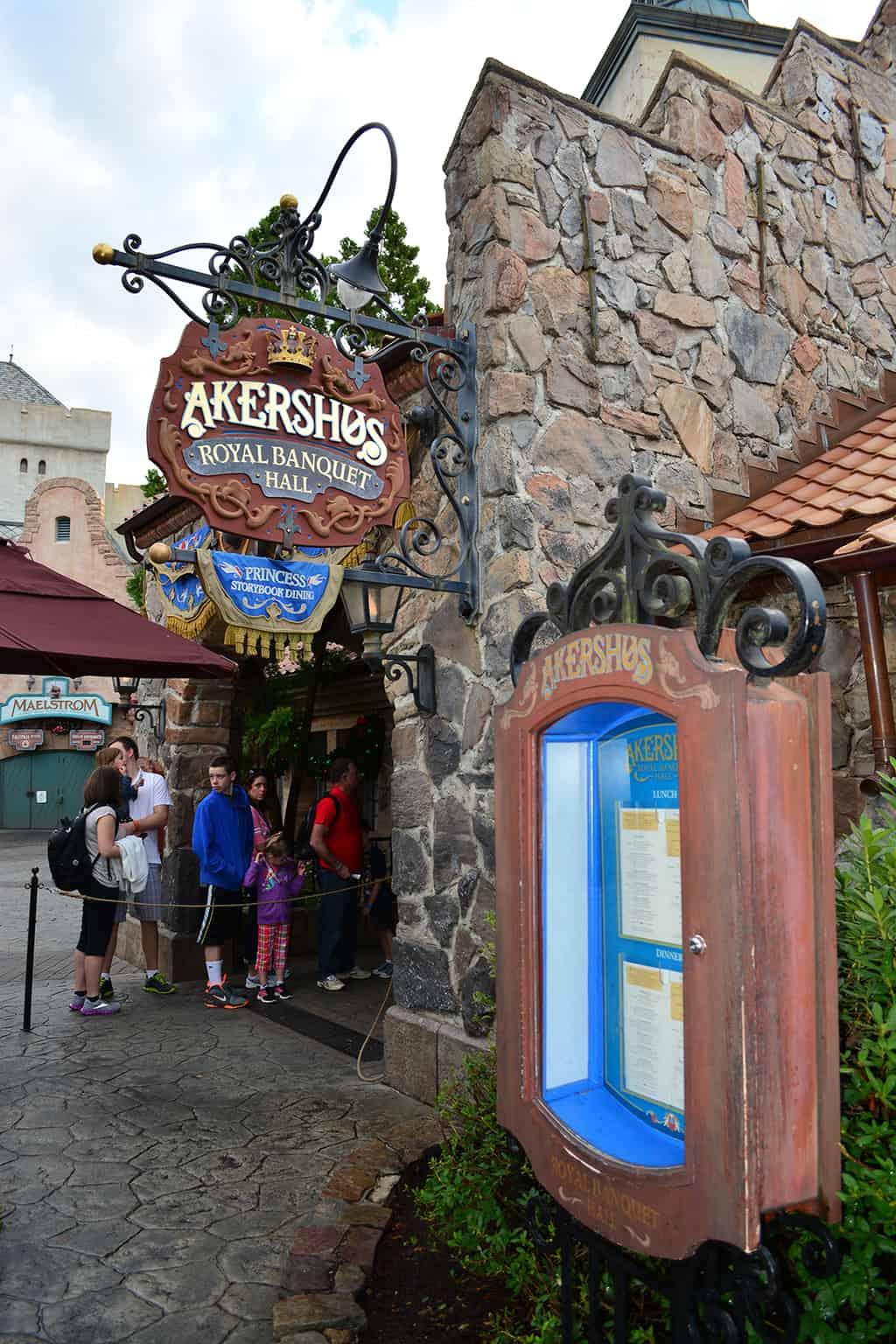Walt Disney World Epcot Akershus Royal Dining Princess Character Meal (1)