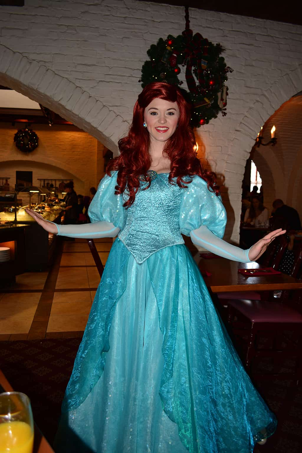 Belle's Christmas Dress