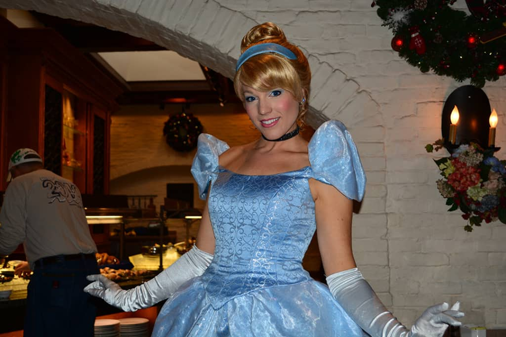 Walt Disney World, Epcot, Akershus Royal Banquet Hall, Princess Character Meal, Cinderella