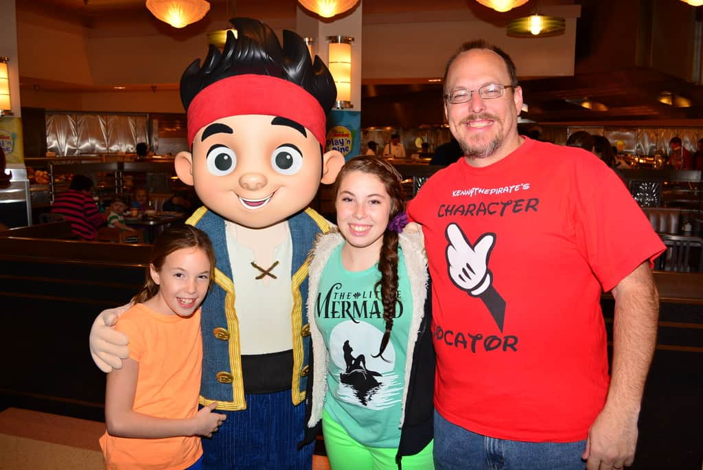 Jake the pirate to be retired from meet and greets kennythepirate walt disney world hollywood and vine character meal jake and the neverland pirates m4hsunfo