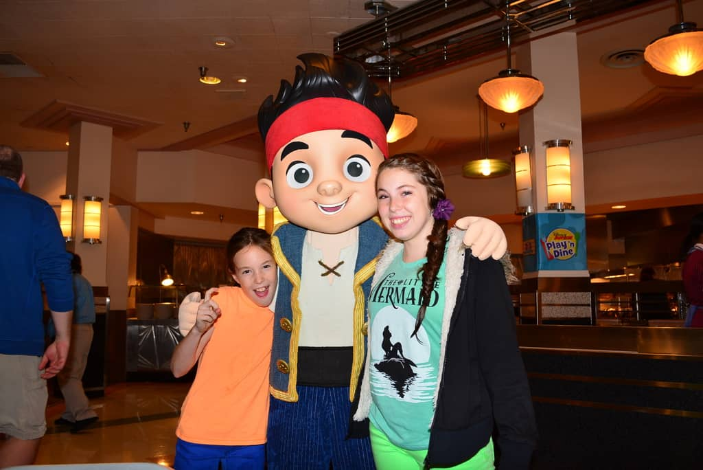 Walt Disney World, Hollywood and Vine, Character Meal, Jake and the Neverland Pirates