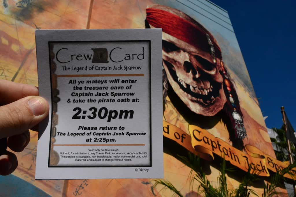 Walt Disney World, Hollywood Studios, Legend of Captain Jack Sparrow