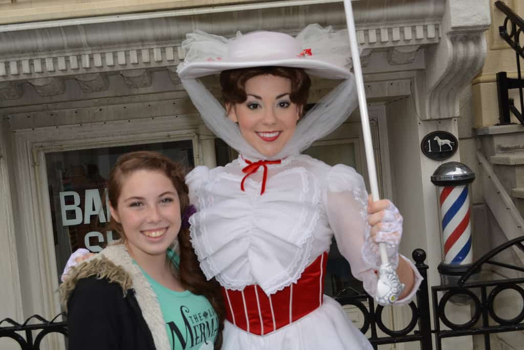 Walt Disney World, Hollywood Studios, Streets of America, Character Palooza, Mary Poppins
