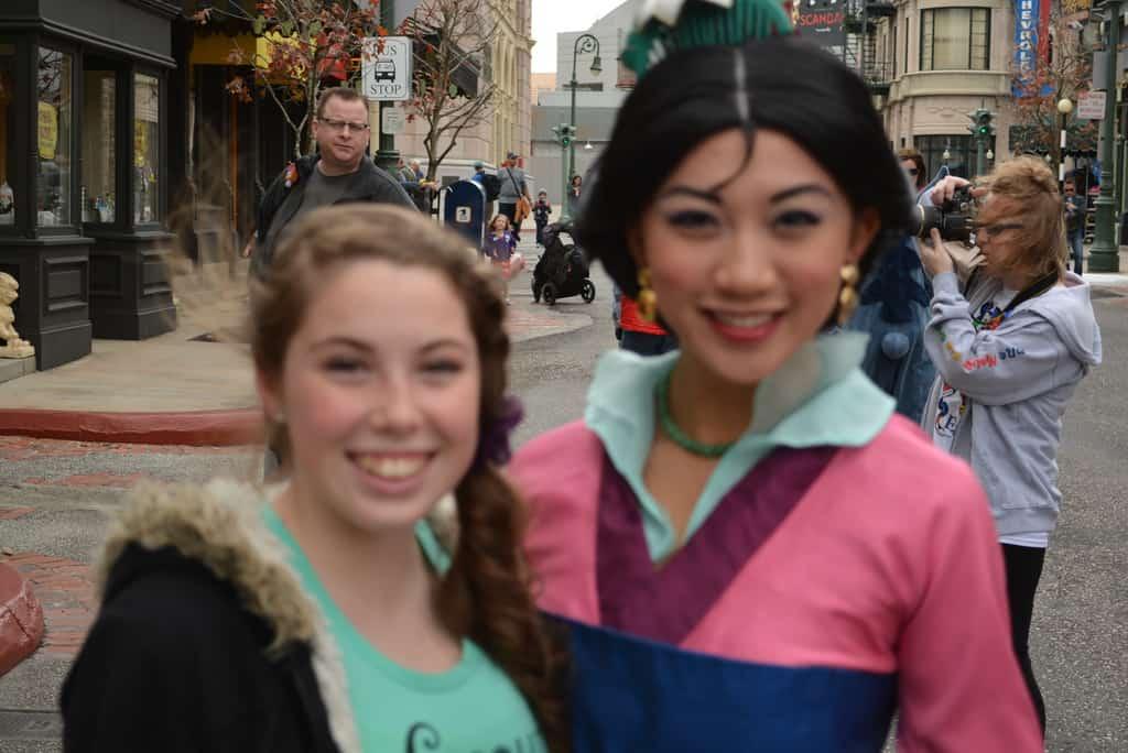 Walt Disney World, Hollywood Studios, Streets of America, Character Palooza, Mulan
