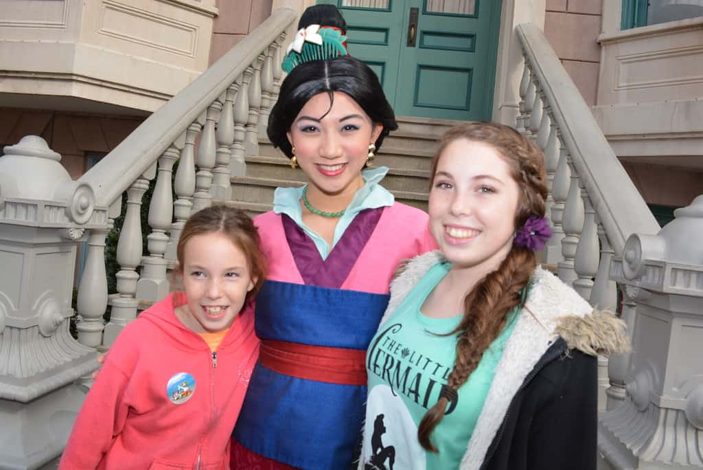 Mulan at Character Palooza in Hollywood Studios