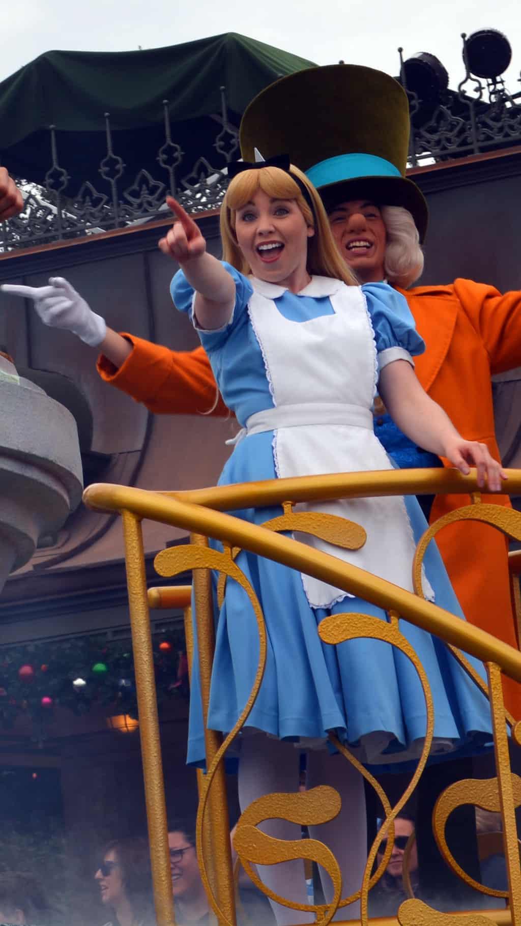 Walt Disney World, Magic Kingdom, Celebrate a Dream Come True Parade, Alice in Wonderland, Mad Hatter