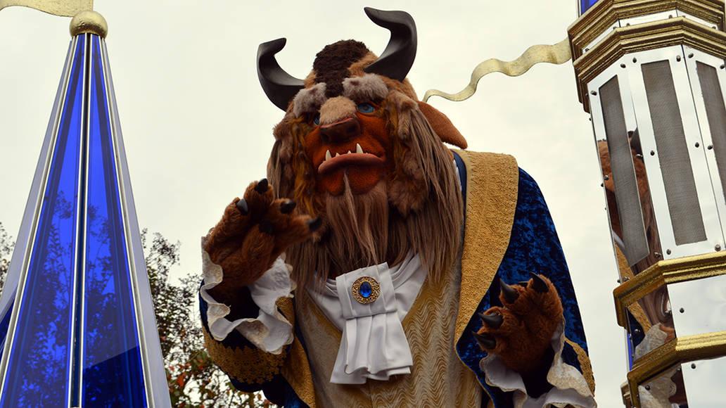 Walt Disney World, Magic Kingdom, Celebrate a Dream Come True Parade, Beast