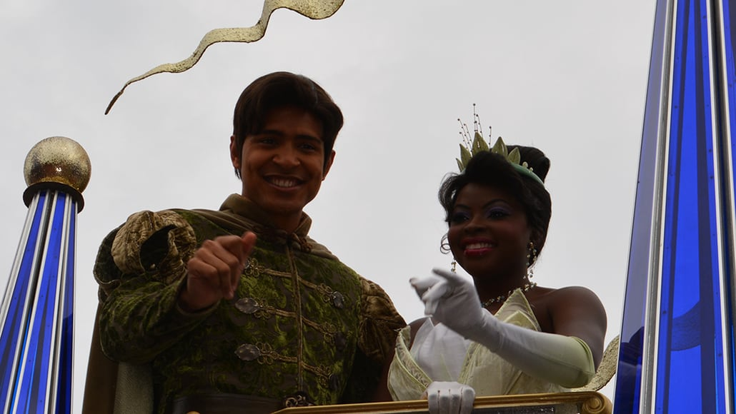 Walt Disney World, Magic Kingdom, Celebrate a Dream Come True Parade, Naveen, Tiana
