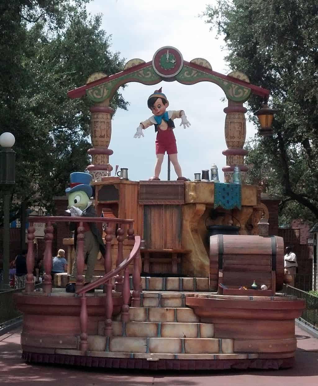 Walt Disney World, Magic Kingdom, Celebrate a Dream Come True Parade, PInocchio