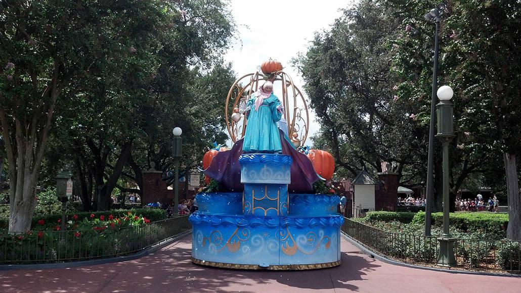 Walt Disney World, Magic Kingdom, Celebrate a Dream Come True Parade, Fairy Godmother
