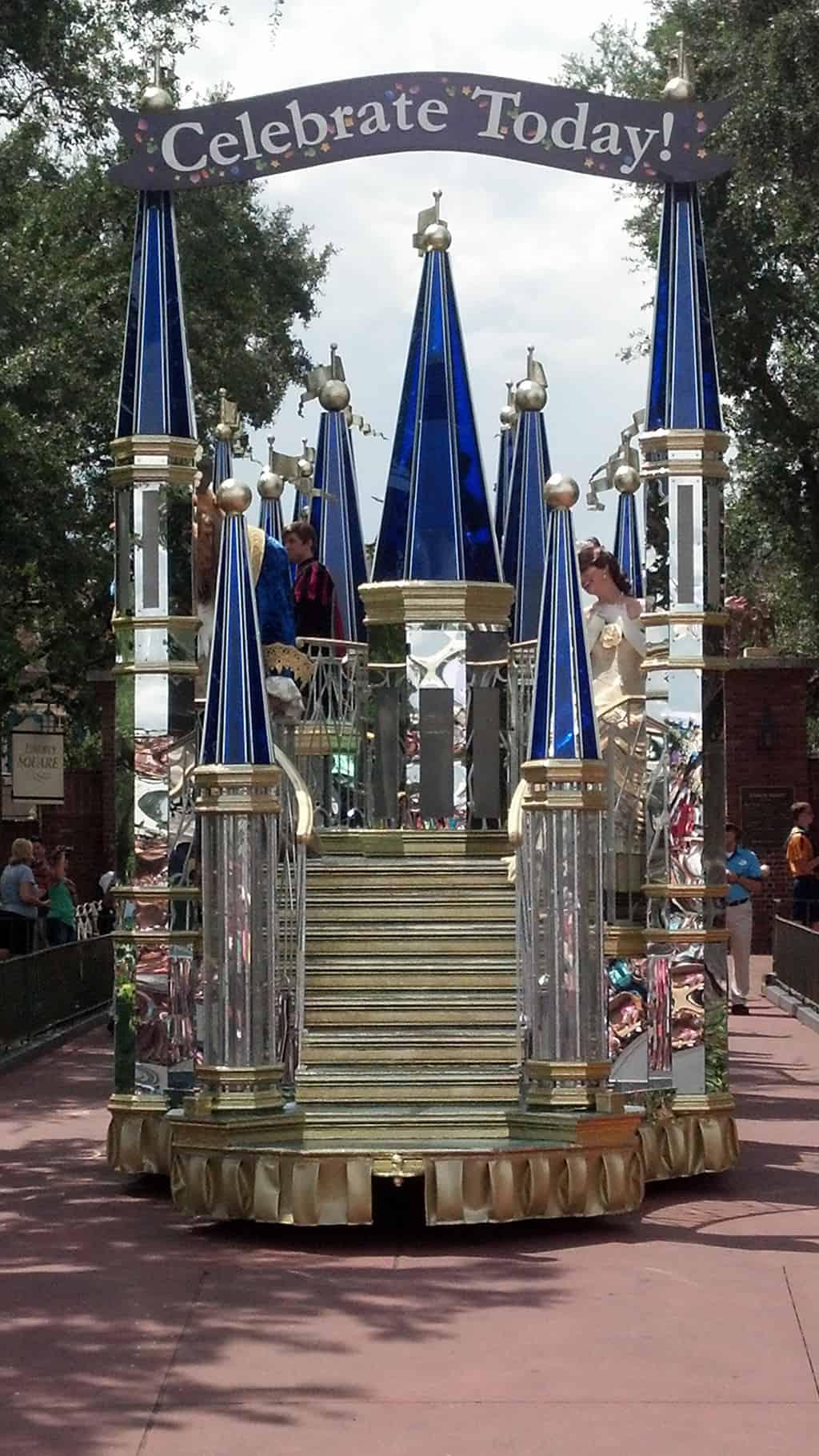 Walt Disney World, Magic Kingdom, Celebrate a Dream Come True Parade