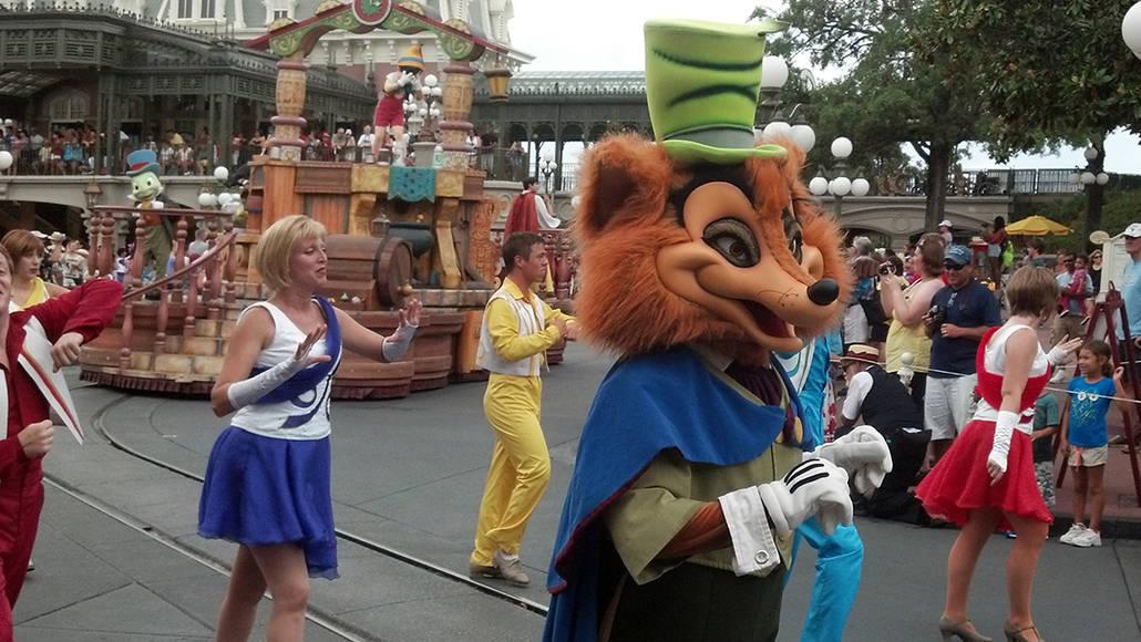 Walt Disney World, Magic Kingdom, Celebrate a Dream Come True Parade, Foulfellow