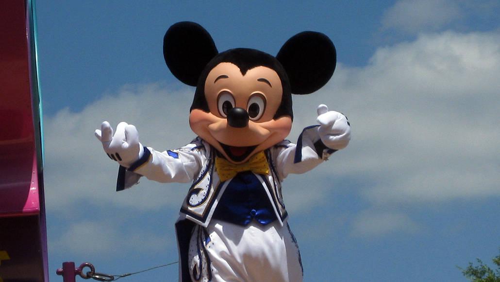 Walt Disney World, Magic Kingdom, Celebrate a Dream Come True Parade, Mickey Mouse